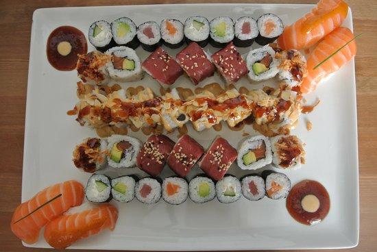 Coeur de Sushi : plateau assortiment