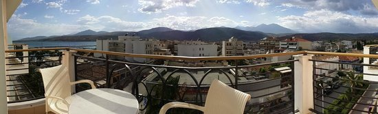 Nafsika Palace: View from the balcony