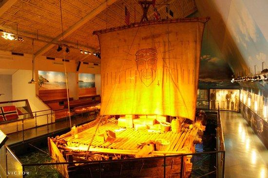 Kon-Tiki Museum : The Kon-Tiki raft is upgradet