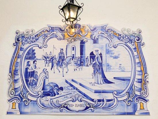 Taverna Lusitana: azulejo típico