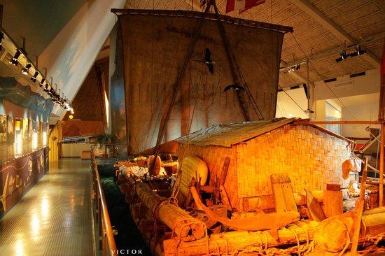 Kon-Tiki Museum : Kon-Tiki and new Kon-Tiki exhibition
