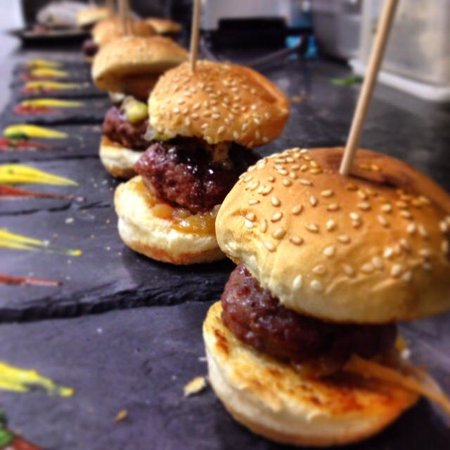 La Cavita : mini hamburguesa Mac foie