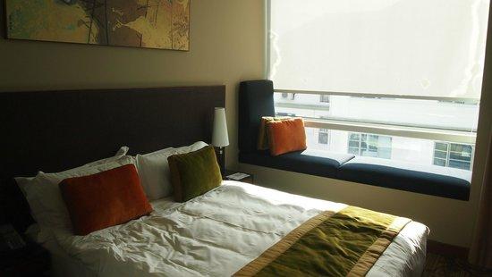 Park Regis Singapore: our double room