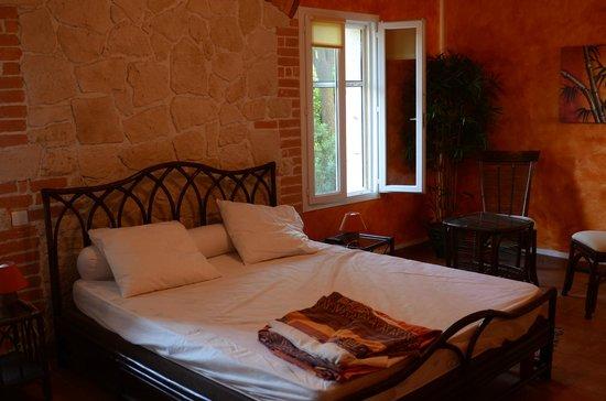 Chambres d'hôtes Mas Orfila : chambre Bambou