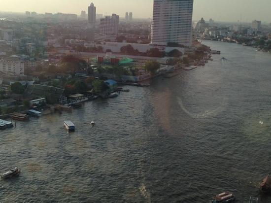 Shangri-La Hotel,Bangkok : Horizon Club view