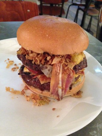 Byron Charing Cross: The Ronaldo burger as delivered