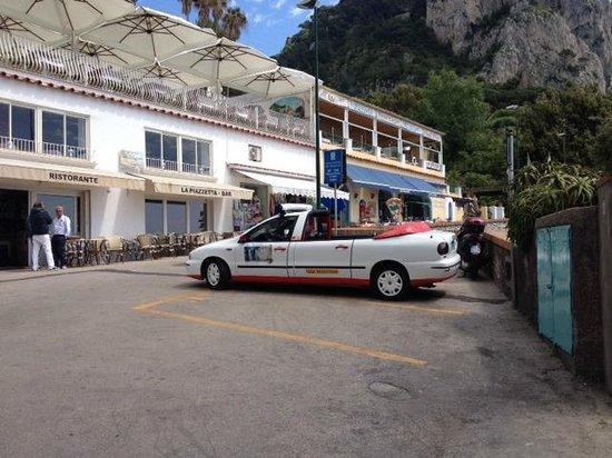 Parco Filosofico dell'Isola di Capri: А вот и кабриолет! Экскурсия по Городу)))
