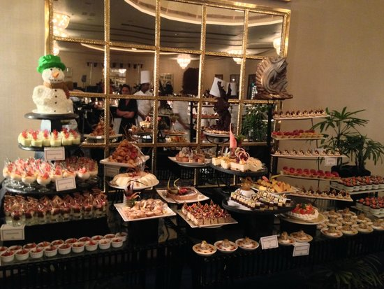 The Blue Water : Buffet de la St Sylvestre