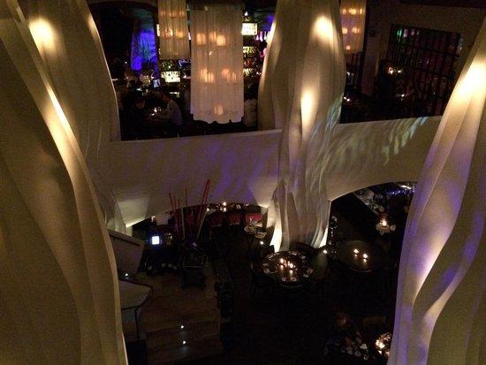 east Restaurant: Blick nach unten