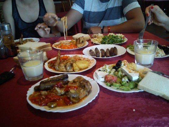 Pliska Hotel: food