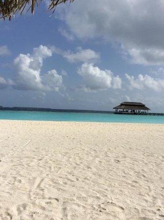Kihaad Maldives: vista dal toddy bar