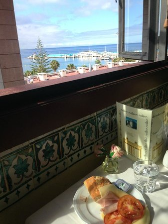 Labranda Reveron Plaza: Utsikt fra spisesal