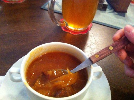 Baracnicka Rychta: spécialité de bouillon local (aurait suffit à lui seul !)