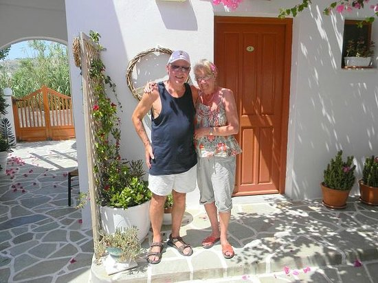 Cyclades Hotel and Studios: In part of the garden of the studios