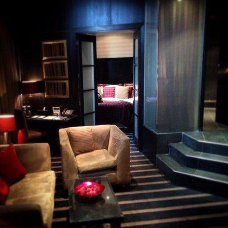 Malmaison Hotel: Slick suite