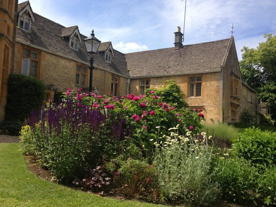 Lords of the Manor Hotel: From the front lawn