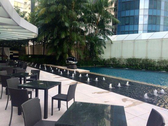 The St. Regis Singapore: Pool area