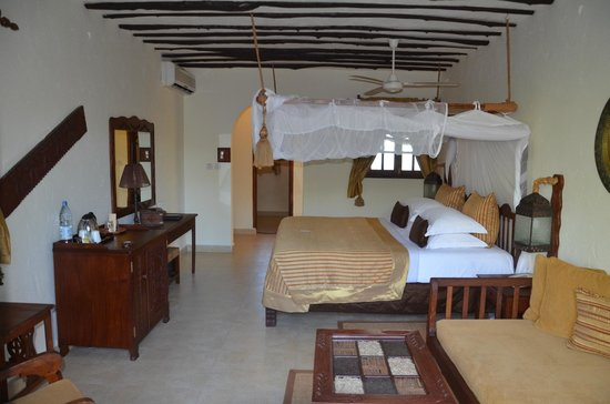Breezes Beach Club & Spa, Zanzibar : Suite deluxe a l'etage