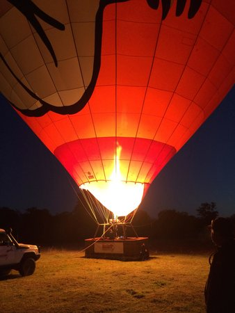 Hot Air Balloon Gold Coast: About to take off