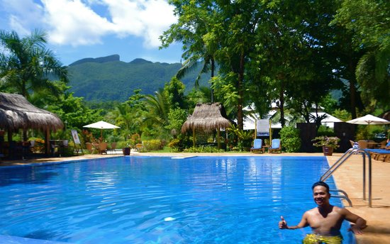 Daluyon Beach and Mountain Resort: the main pool