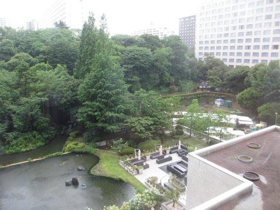 Keikyu EX Inn Shinagawa Ekimae: 日本庭園が見えます・