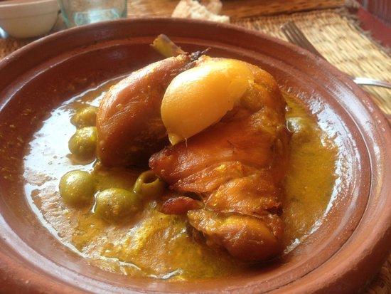 La Terrasse des épices : tajine poulet citron 2