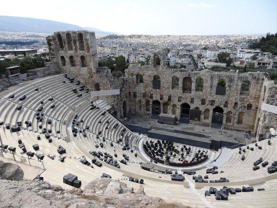 Herod Atticus Odeon : イロド・アティコス音楽堂全景