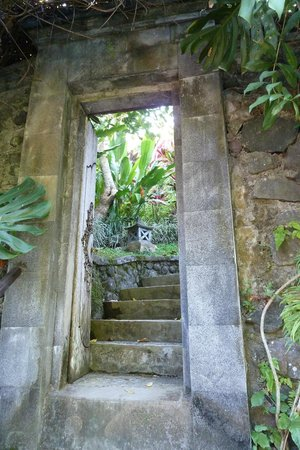 Villa Semana: Les escaliers du jardin