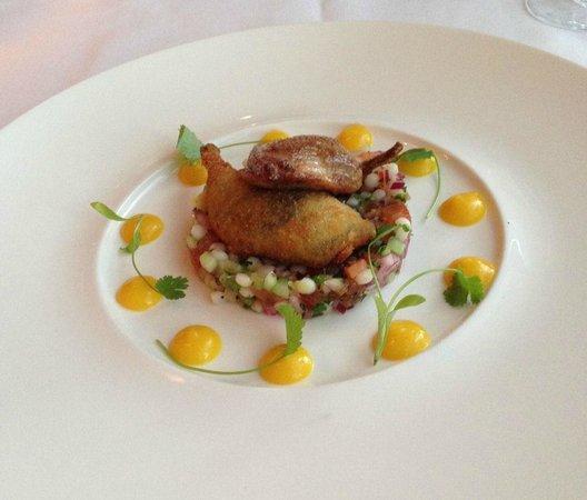 La Brasserie at the Sofitel London Gatwick: Quail