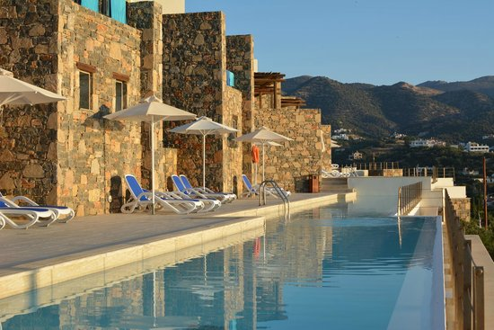 Mirabello Beach & Village Hotel : Private Pool