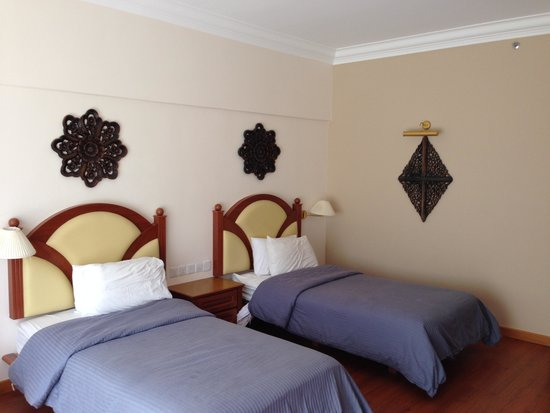 Century Pines Resort: Deluxe Room view from balcony