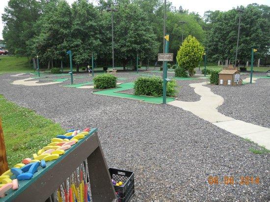 YMCA Trout Lodge : Minigolf