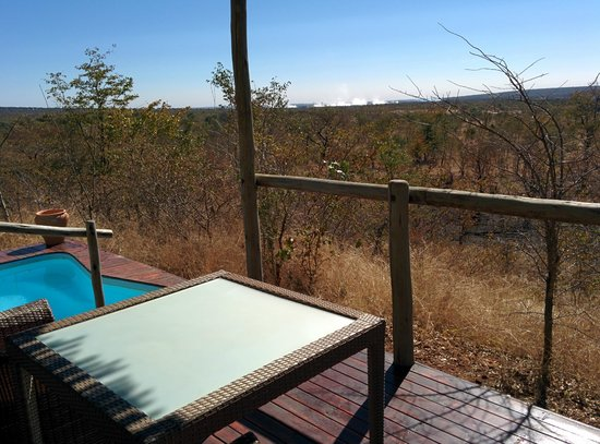 The Elephant Camp: View from our deck