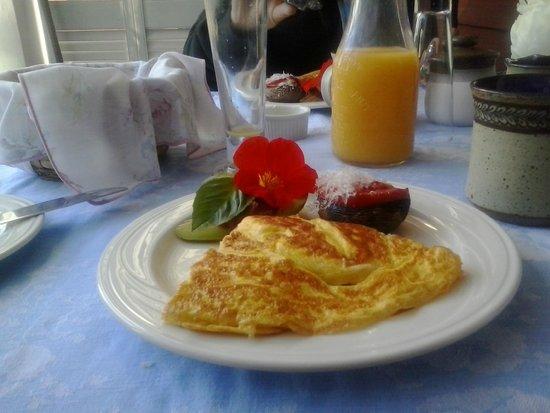 Hickory Ridge House Bed & Breakfast Inn: 5 Star Breakfast