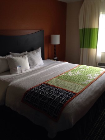 Fairfield Inn Kankakee Bourbonnais: King