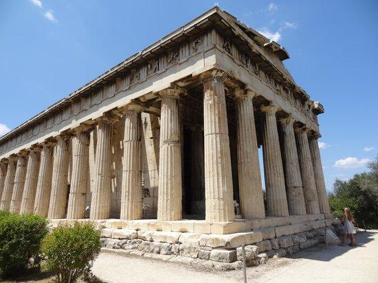 Temple d'Héphaïstéion : 神殿全景