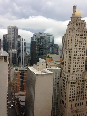 Chicago Marriott Downtown Magnificent Mile: view from the room