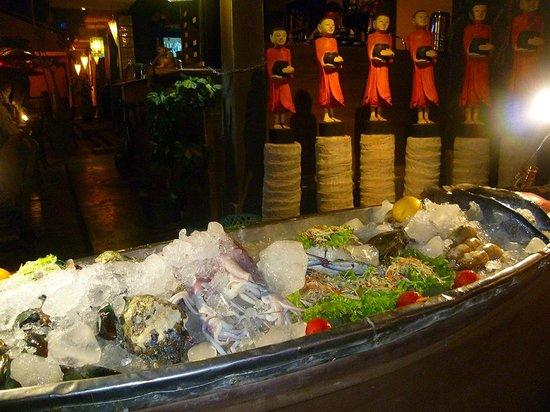 Golden Elephant: banco seafood entrata un classico