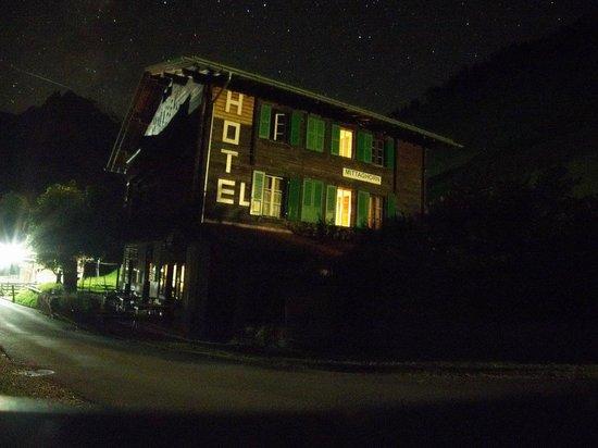 Hotel Mittaghorn: Starry night