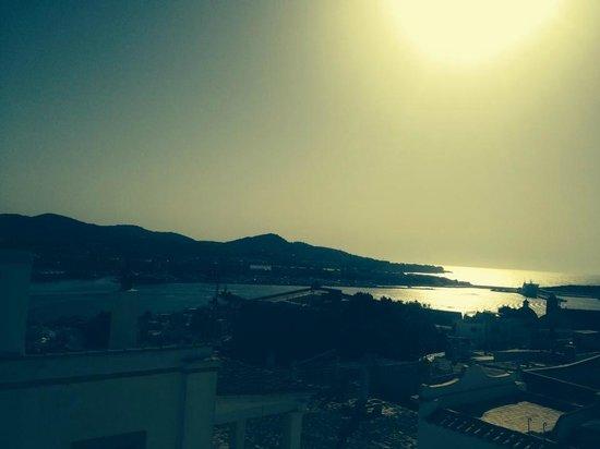 El Corsario: view dal balcone