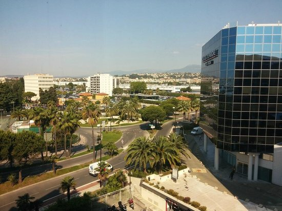 Novotel Nice Arenas Aeroport: View from the room