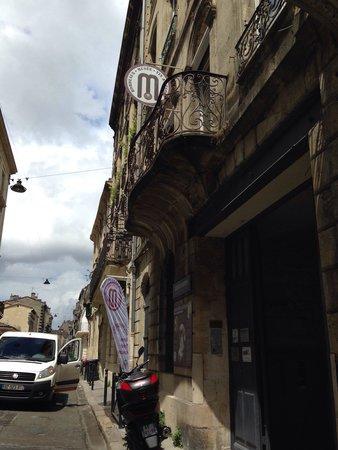 Musée du Vin et du Négoce : 入り口
