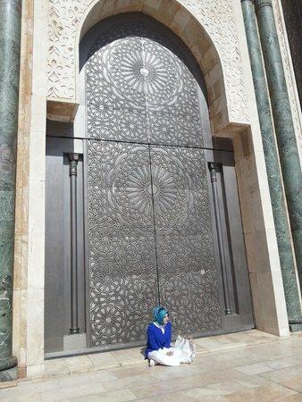 Mosquée Hassan II : Bu ihtişam ve benim küçüklüğüm...