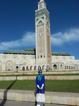 Mosquée Hassan II : Ben şaşırdım kaldım bu harika yapının karşısında ama...