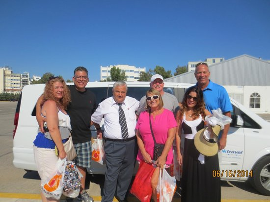 """PK Travel: Our group with our """"Uncle"""" Tasol, a great guy and great guide"""