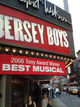 Jersey Boys: No pics/video allowed inside!