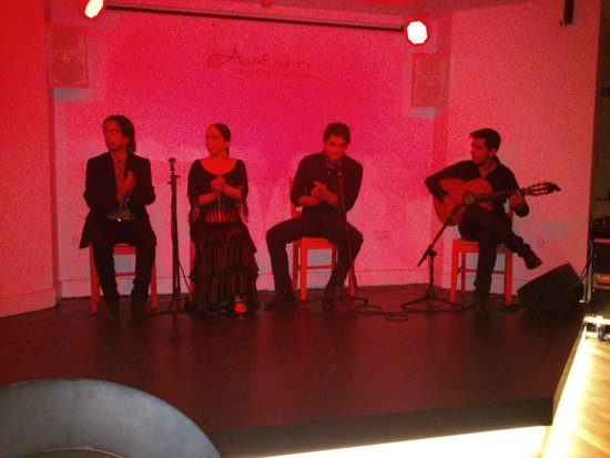 Alma Flamenca: Cuadro Flamenco