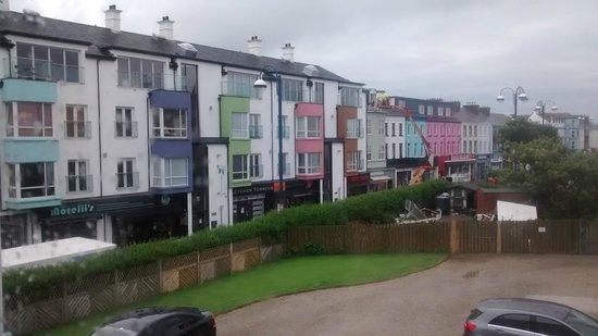 Antrim House : View (morelli's right next door!)