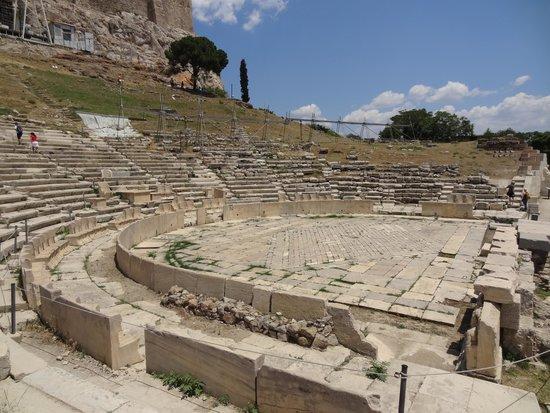 Theater of Dionysus: 側面より