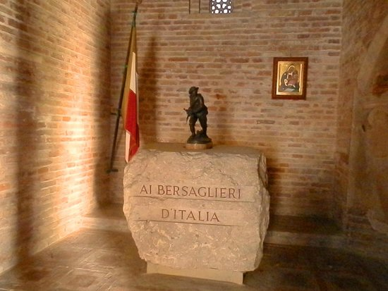 Basilica - Santuario di Santo Stefano: Часовня берсальеров